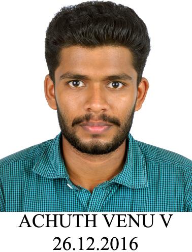 ACHUTH VENU V